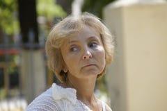 Retrato de una mujer Fotos de archivo