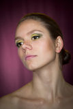 Retrato de una mujer fotografía de archivo libre de regalías