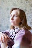 Retrato de una mujer Foto de archivo libre de regalías