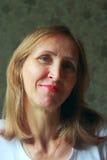 Retrato de una mujer Imagen de archivo