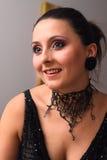 Retrato de una mujer agradable Imagen de archivo libre de regalías
