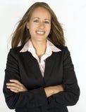 Retrato de una mujer de negocios Fotos de archivo