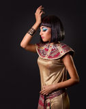 Retrato de una mujer egipcia hermosa Imagenes de archivo