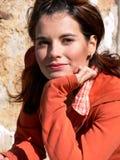 Retrato de una mujer hermosa Imagen de archivo libre de regalías