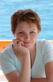 Retrato de una mujer hermosa Fotografía de archivo libre de regalías