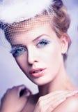Retrato de una mujer hermosa fotos de archivo