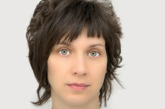 Retrato de una mujer hermosa Imagenes de archivo