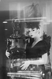 Retrato de una mujer hermosa joven Fotografía de archivo