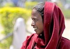 Retrato de una mujer india fotos de archivo libres de regalías