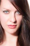 Retrato de una mujer joven Imagenes de archivo