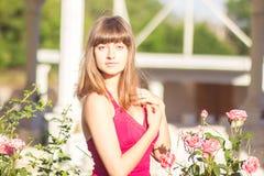 Retrato de una mujer joven hermosa imágenes de archivo libres de regalías