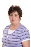 Retrato de una mujer mayor. Fotos de archivo
