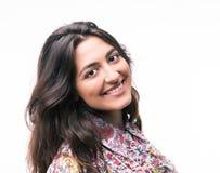 Retrato de una mujer sonriente fotos de archivo libres de regalías
