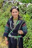 Retrato de una mujer vietnamita foto de archivo