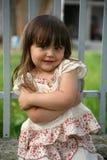 Retrato de una niña Foto de archivo libre de regalías
