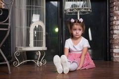 Retrato de una niña imágenes de archivo libres de regalías
