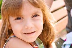 Retrato de una niña de la belleza Imagen de archivo