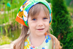 Retrato de una niña de la belleza Imagen de archivo libre de regalías