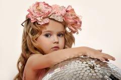 Retrato de una niña encantadora Fotografía de archivo