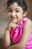 Retrato de una niña linda Fotos de archivo
