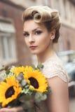 Retrato de una novia Fotografía de archivo