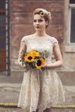 Retrato de una novia Foto de archivo