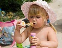 Retrato de una pequeña belleza Foto de archivo libre de regalías