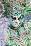 Retrato de una persona disfrazada Imagen de archivo libre de regalías