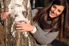 Retrato de una sonrisa adolescente Imágenes de archivo libres de regalías