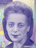 Retrato de Viola Desmond foto de archivo libre de regalías