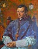 Retrato de William Bernard Ullathorne Imágenes de archivo libres de regalías