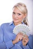 Retrato de Womans Foto de Stock Royalty Free
