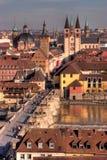 Retrato de Wurzburg imagem de stock