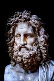Retrato de Zeus imagenes de archivo