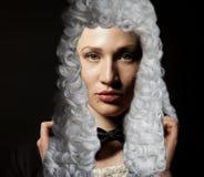 Retrato del abogado de sexo femenino imagenes de archivo