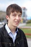 Retrato del adolescente al aire libre Fotos de archivo