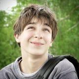 Retrato del adolescente al aire libre Foto de archivo