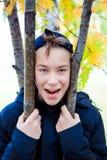 Retrato del adolescente al aire libre Fotografía de archivo libre de regalías