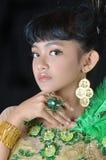 Retrato del adolescente asiático Fotos de archivo