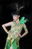 Retrato del adolescente asiático Foto de archivo libre de regalías