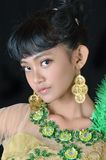 Retrato del adolescente asiático Imágenes de archivo libres de regalías