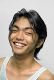 Retrato del adolescente asiático Imagen de archivo