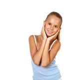 Retrato del adolescente bonito Imagen de archivo libre de regalías