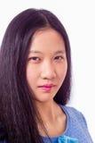 Retrato del adolescente chino Imagen de archivo libre de regalías
