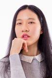 Retrato del adolescente chino Imágenes de archivo libres de regalías