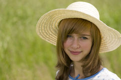 Retrato del adolescente de la belleza Fotos de archivo