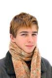 Retrato del adolescente del invierno Fotos de archivo libres de regalías