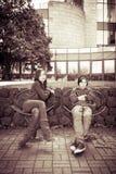 Retrato del adolescente dos Foto de archivo libre de regalías