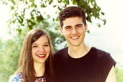 Retrato del adolescente dos Fotografía de archivo libre de regalías
