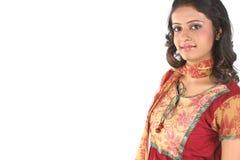 Retrato del adolescente indio Imagenes de archivo